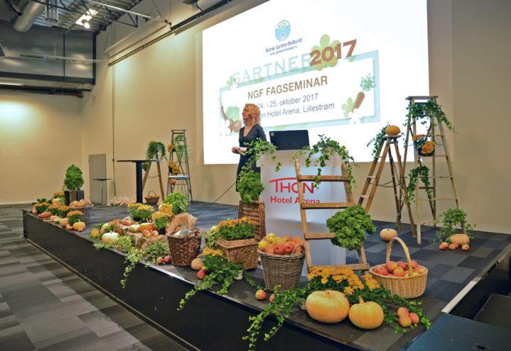 Møt landbruksministeren på GARTNER 2018!
