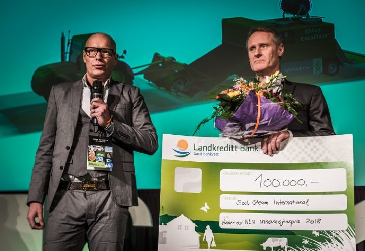 Innovasjonsprisen 2018 til Soil Steam International