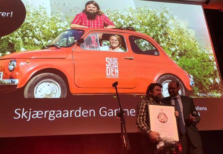Gartnerhallens innovasjonspris til Skjærgaarden Gartneri