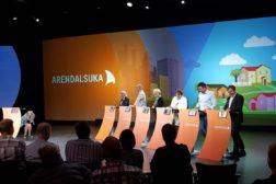 Engasjert debatt på Arendalsuka